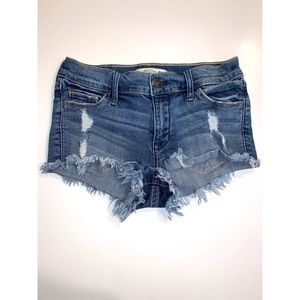 Abercrombie and Fitch Denim cut off shorts